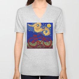 Starry Starry Ride Unisex V-Neck