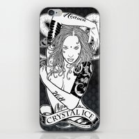 "tatoo iPhone & iPod Skins featuring Tatoo Ink ""Black Lotus"" by CRYSTAL_ICE"