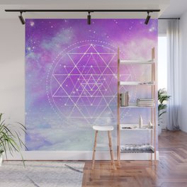 Sacred Geometry (Sri Yantra) Wall Mural