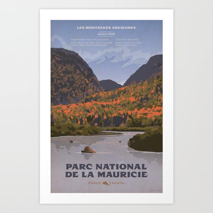 Parc National de la Mauricie Art Print