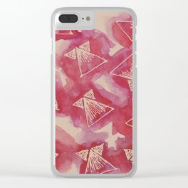 conversations Clear iPhone Case