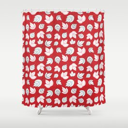Fall in the woodlands Shower Curtain