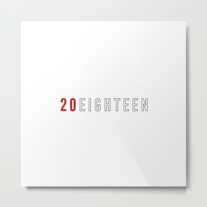 20EIGHTEEN Metal Print