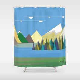 Hills Shower Curtain