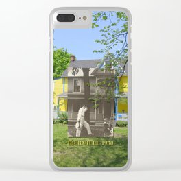 Iberville 1930 Clear iPhone Case