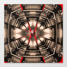 Internal Kaleidoscopic Daze- 13 Canvas Print
