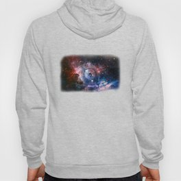 Nebula Galaxy Outer Space Astronaut Eyes Milkyway Hoody