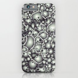 Microscopic Abstract Shapes iPhone Case