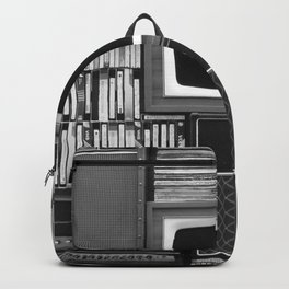 Everything Retro (Black and White) Backpack