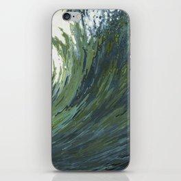 Big Pacific Ocean Wave iPhone Skin