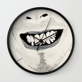 Bowie SMILE Wall Clock