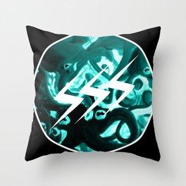 SSS Seizure Squid Studio // Logo // Tentacles Throw Pillow