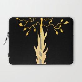 The Flaming Sword Guarding The Garden Laptop Sleeve