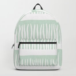 Abstract Blades of Grass in Mint Backpack
