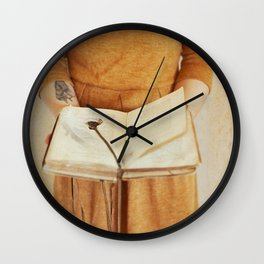 Secret Book Wall Clock