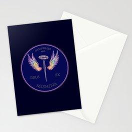 Deus Ex Mishina Stationery Cards