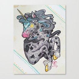 Heart Headed Horse Canvas Print
