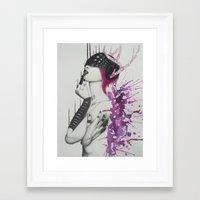 marilyn Framed Art Prints featuring Marilyn  by Aggelikh Xiarxh
