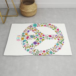Cool Peace Tees For Boys And Girls Peace And Love 1969 Rug