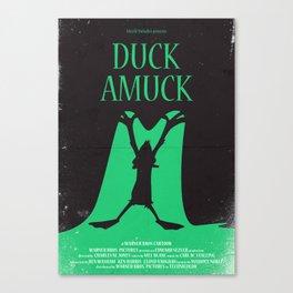 Duck Amuck Canvas Print