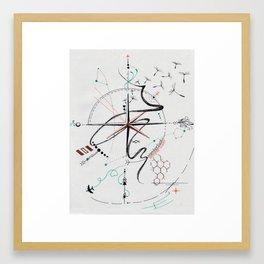 Wanderlust: Semper Liber Framed Art Print