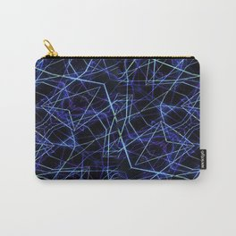 Galaxy Linear Pattern Carry-All Pouch