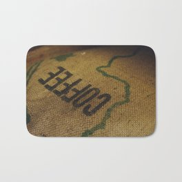 Coffee Sack Bath Mat