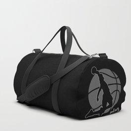 Basketball Player (monochrome) Duffle Bag