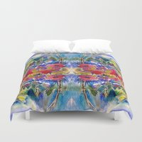 africa Duvet Covers featuring Africa by CrismanArt