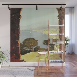 1920s Alassio Italy Wall Mural