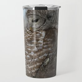 Sleepy Owl Travel Mug