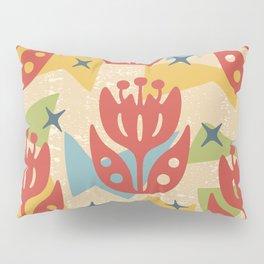 Mid Century Modern Butterfly Garden 201 Pillow Sham