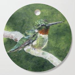 Romeo the Hummingbird by Teresa Thompson Cutting Board