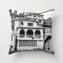 df Throw Pillow
