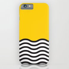 Waves of Yellow iPhone 6 Slim Case