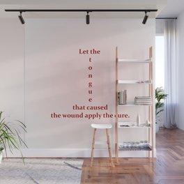 Wagger Words Wall Mural