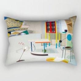 going back in time Rectangular Pillow