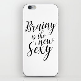 Brainy is the new sexy iPhone Skin