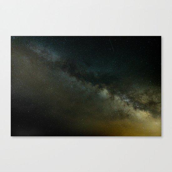 Amazing Galaxy Canvas Print