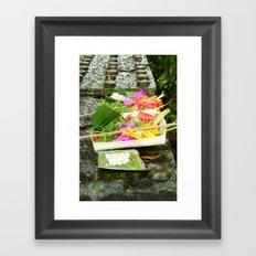 Offering's Framed Art Print