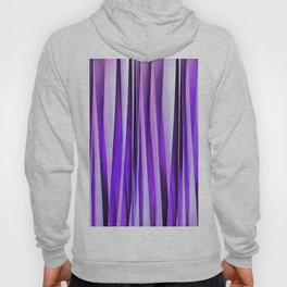Luxurious Lilac, Purple and Silver Stripy Pattern Hoody