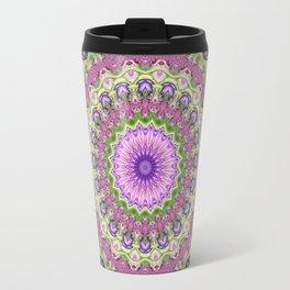 Vibrant Fractal Kaleidoscope 2 Travel Mug