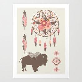 Spirit Walk Art Print