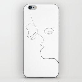 Lovers-Minimlism iPhone Skin