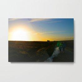 Walking On A Dream - Original Photographic Art Metal Print