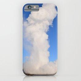 Iceland Geyser iPhone Case