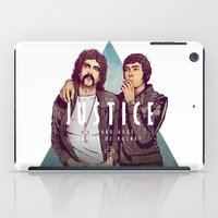 justice iPad Cases featuring Justice by Matt Chinn