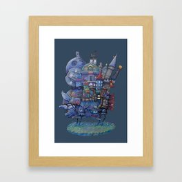 Fandom Moving Castle Framed Art Print