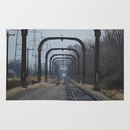 Train Track Pathway Rug