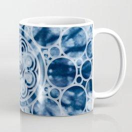 Manta Ray Mandala Indigo Coffee Mug